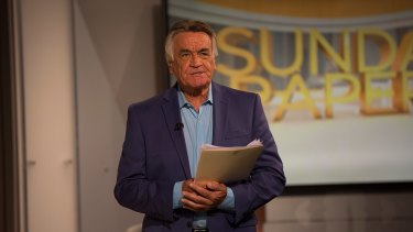 Cassidy opens the Sunday morning program with a short, standing monologue.