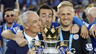 Rarity: Leicester's improbable 2016 Premier League title triumph stunned the sporting world.