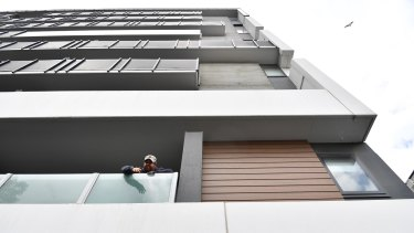 At least 1400 buildings in Victoria have high-risk cladding on them.
