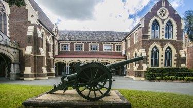 Brisbane Grammar School in Spring Hill in inner-Brisbane.