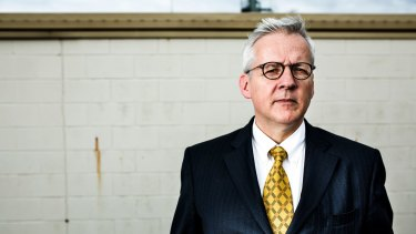 Professor John Blaxland, author of the official history of ASIO's second volume.