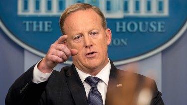 "Former White House press secretary Sean Spicer was ""walking into his own execution"", Cliff Sims writes."