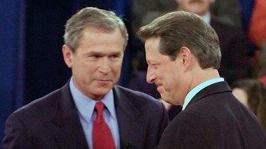 Republican George W. Bush lost the popular vote to Democrat Al Gore by more than 500,000 votes.