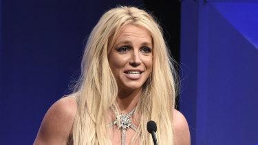 Britney Spears in 2018.