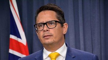 West Australian Treasurer Ben Wyatt.