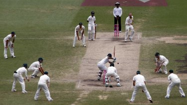 The SCG Trust is considering a move to drop-in pitches.