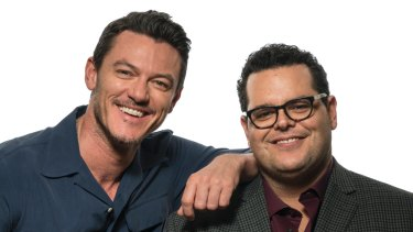 Returning to Beauty and the Beast, Luke Evans and Josh Gad.