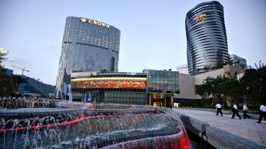 The City of Dreams casino in Macau, China.