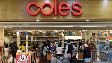 Coles is tweaking how it operates its online business.