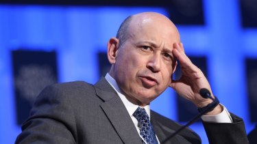 Former Goldman Sachs chief Lloyd Blankfein has lashed out at Bernie Sanders.