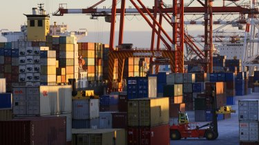 Fremantle Port is WA's only container port.