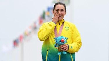 Commonwealth Games gold medalist Chloe Hosking keeps on winning.