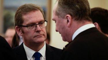 Dr John McVeigh resigned on Friday.