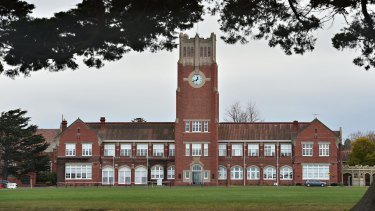 Geelong Grammar school will close four campuses on Wednesday.