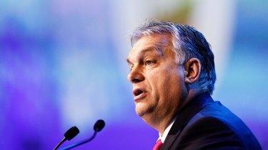 Viktor Orban, Hungary\'s prime minister.
