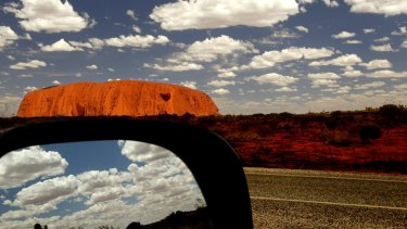 The magic of Uluru is a must see.