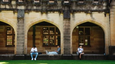 Universities face major losses if Chinese students stop coming to Australia.