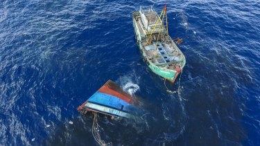 Indonesia has sunk dozens of Vietnamese, Filipino, Thai and Malaysian fishing boats near Natuna Islands since 2016.