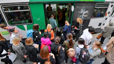 Yarra Trams met its on-time performance target only five times in the past year.