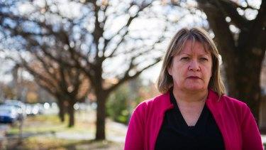 Australian Federal Police Association president Angela Smith.