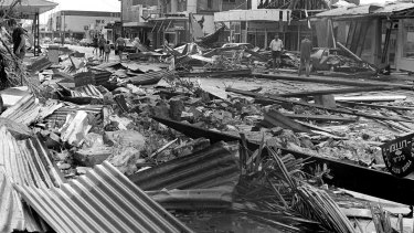 By early 1975, the Cyclone Tracy disaster dominated the discussion.