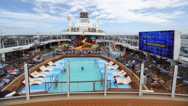 """Queensland's chief health officer Jeannette Young says cruise ships magnify infections and it would not be safe to begin even Queensland-wide cruising until """"later down the track"""". (File image)"""