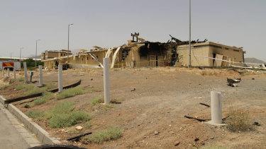 Iran's Natanz uranium enrichment facility was damaged in a recent fire.