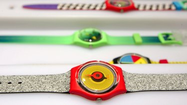 Sales of Swatch's watches have slumped in the coronavirus crisis.