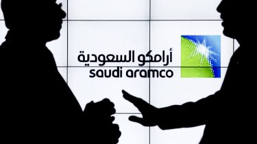 Aramco produces about 10 per cent of the world's crude.