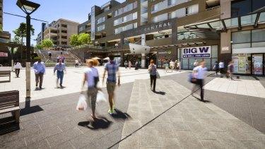 Auburn Central in NSW.