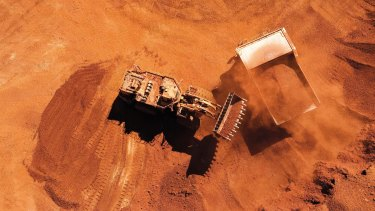 Rio Tinto is a miner of the steelmaking commodity iron ore in Western Australia's Pilbara.