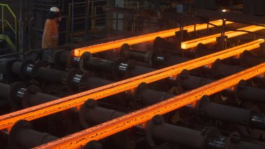 Chinese officials intimated a boost in infrastructure spending, sending the price of iron ore surging.