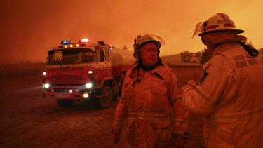 The royal commission heard that the government should start stockpiling for future bushfires.