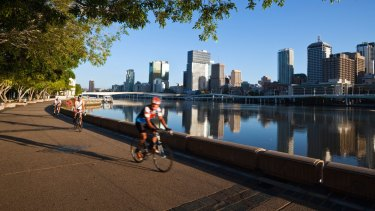 More than 800,000 Queenslanders are cyclists with the state government hoping more will try riding a bike on Brisbane's dedicated cycleways.