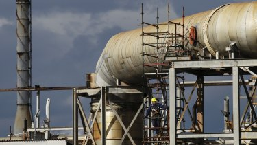 """""""Slop"""" diesel refined back into a fuel at the old Caltex oil refinery at Kurnell in Sydney has forced the government to overhaul pioneering environmental legislation put in place by the Howard government."""
