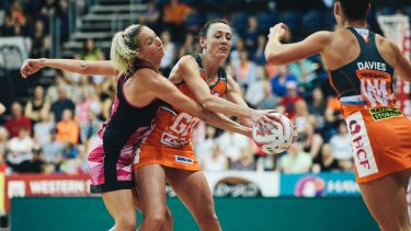 Bec Bulley spent three years playing for the AIS Canberra Darters.