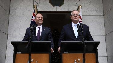 Prime Minister Scott Morrison and his Treasurer, Josh Frydenberg, have been hammering Labor over its promise to end the franked-dividend freebie for months.