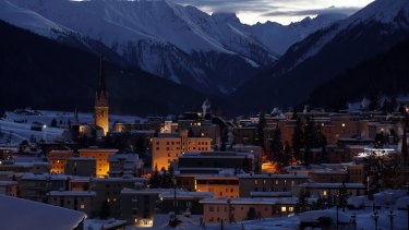 Dusk falls in Davos: The annual gathering of the world's rich and powerful in the Swiss ski resort hasn't changed the world, despite its lofty mission statement.