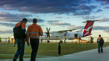 Cobham operates about 20 aircraft on behalf of QantasLink.