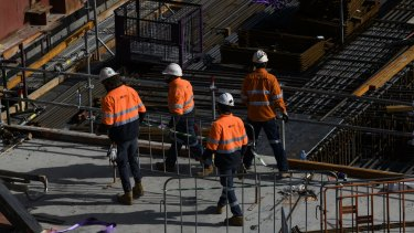 Some construction workers will be able to return to sites across NSW from Wednesday.