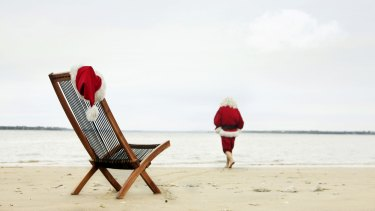 The beach is a preferable option to a huge drama, involving flights to see family, for us this Christmas.