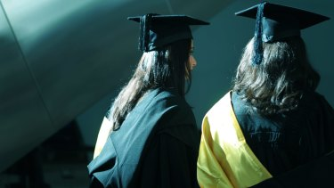 NSW and Victoria heavily promote their universities to overseas markets.