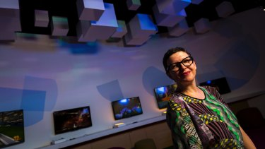 Katrina Sedgwick, the head of ACMI.