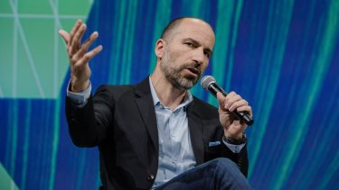 Uber chief executive Dara Khosrowshahi.