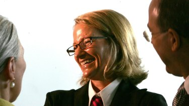 Conservative commentator and lawyer Janet Albrechtsen has been appointed chair of the Institute of Public Affairs.