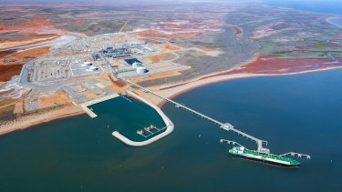 Chevron objected to the valuation of the land where its Wheatstone gas plant is located.