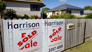 The Reserve Bank says there are signs house prices are easing.