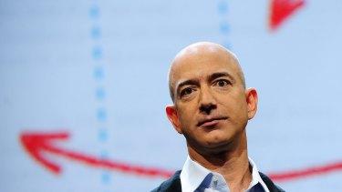 """These aren't normal circumstances"": Amazon boss Jeff Bezos."