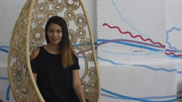 Canva co-founder Melanie Perkins in 2015.