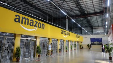 The coronavirus is forcing us to change the way we shop, and companies like Amazon are cashing in.